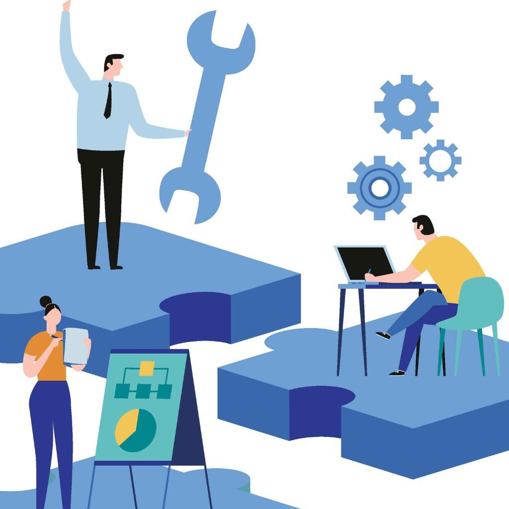 finding-new-ideas-problem-solving-vector-illustration-banner-teamwork-vector-id959212324
